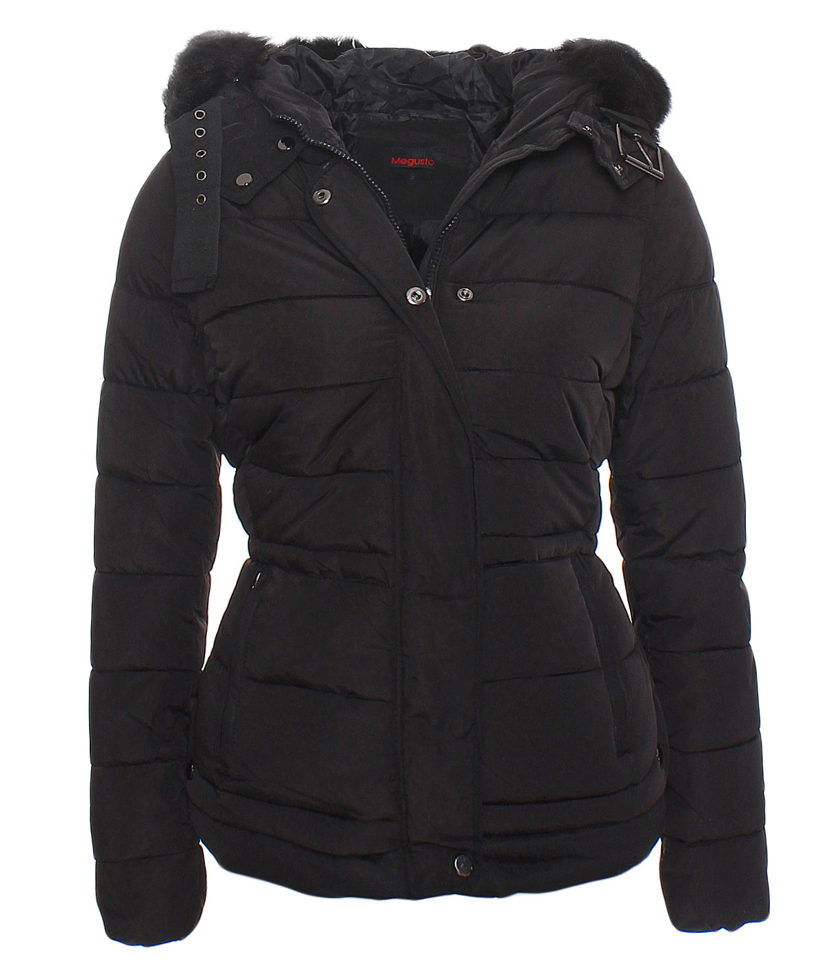 dv 051 damen wintermantel winterjacke steppjacke daunen stepp kurz parka jacke ebay. Black Bedroom Furniture Sets. Home Design Ideas